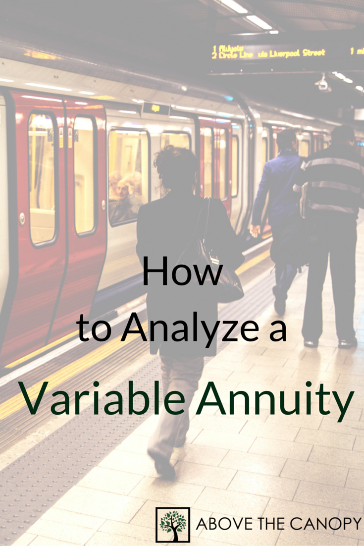 How to Analyze a Variable Annuity(2)