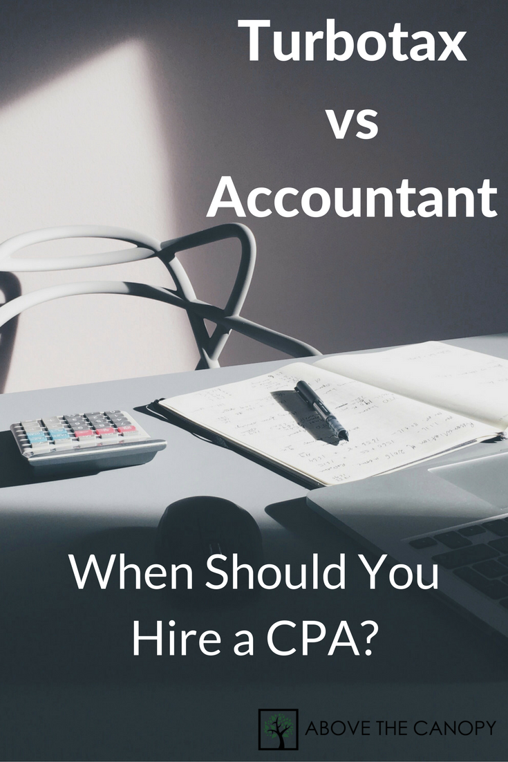 Turbotax vs Accountant: When Should You Hire a CPA?