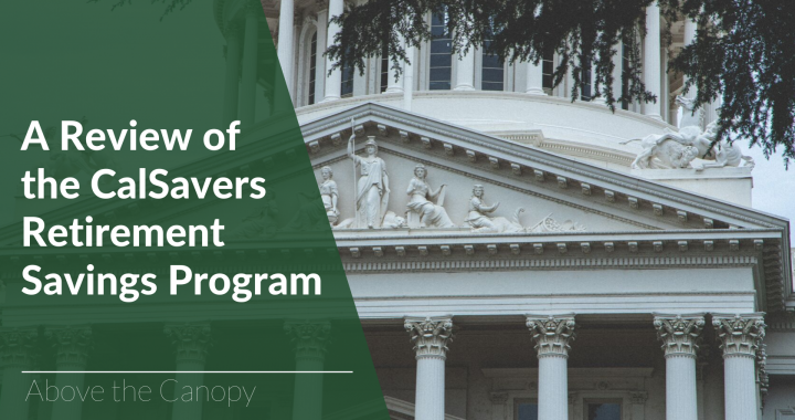 A Review of the CalSavers Retirement Savings Program